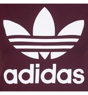 ADIDAS - T-Shirt Trefoil Bordeaux