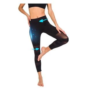 BE SLIM - Slimming-Leggings Sport - Schwarz