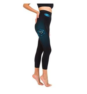 CELLUTEX - Straffende Kurze Hose mit Shapewear-Effekt - Schwarz