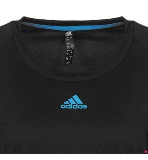 ADIDAS - T-shirt Escouade - Schwarz