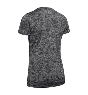 UNDER ARMOUR - Funktions-T-Shirt UA Tech ™ Twist - Schwarz und Grau