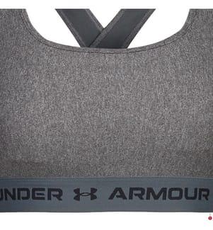 UNDER ARMOUR - Brassiere-BH Armour® Mid Crossback Heather - Grau