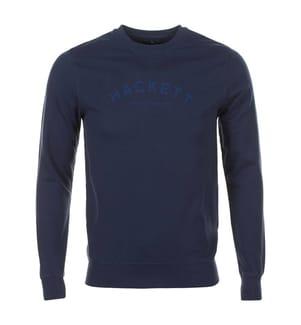 HACKETT - Sweatshirt - Marinblau