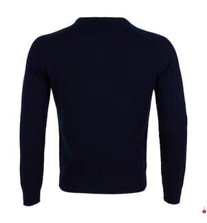 HACKETT - Wollpullover - Marinblau