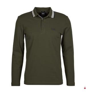 Poloshirt Plisy Regular Fit - Khaki