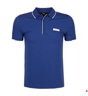Poloshirt Slim Fit - Blau