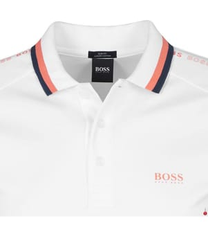 Poloshirt Slim Fit - Weiss