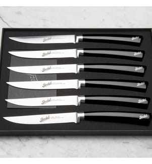 BERKEL - Elegance Schwarz - Set Mit 6 Steakmesser