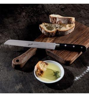BERKEL - Adhoc Schwarz Glänzend - Brotmesser 22 cm