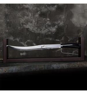 BERKEL - Champagnersäbel Superior Elegance Schwarz 1 Stück , 45 cm Klinge , Geschenkbox Karton