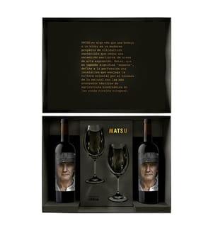 2er-Geschenkbox Matsu El Recio inkl. 2 Riedel Gläser