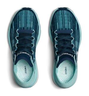 UNDER ARMOUR - Sneakers SpeedForm Velociti Graphic Petrol und Hellblau