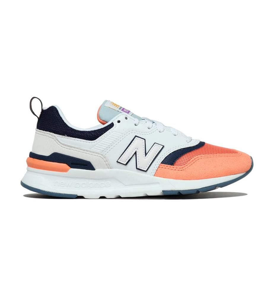 NEW BALANCE - Leder-Sneakers 997 - 3 Farbtöne