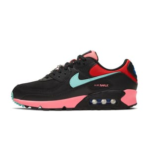 NIKE - Air Max 90 - Black/Sunset Pulse/Chile Red/Tropical Twist