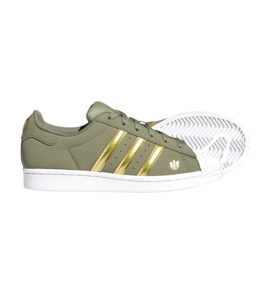 ADIDAS - Sneakers Superstar Legacy Green / Gold Metallic / Cloud White