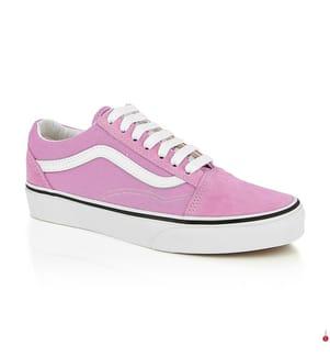 VANS - Sneakers Old Skool - Weiss und Rosa