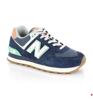 NEW BALANCE - Sneakers 574 - Marinblau