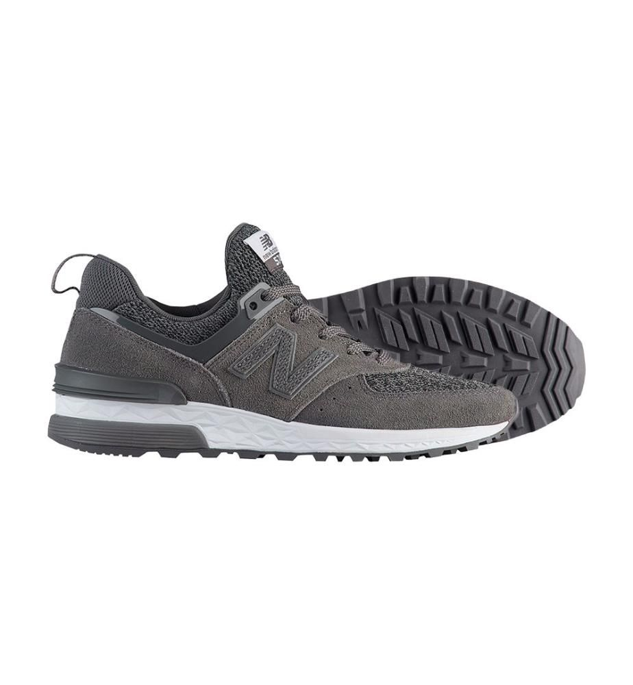 NEW BALANCE - Sneakers 574 Sport Grau