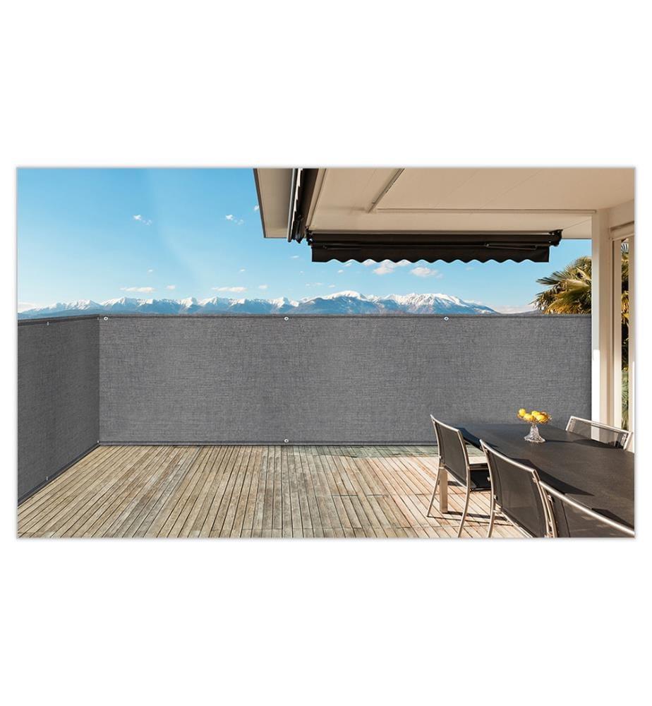 INKAZEN PRATIK GARDEN - Sichtblende 1,8x10 m - Grau