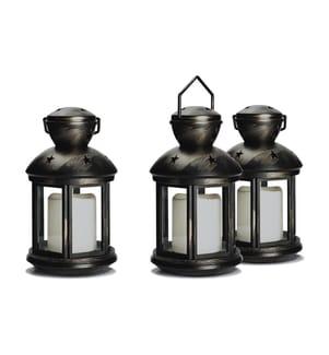 INKAZEN PRATIK GARDEN - 3er Set Laternen LED