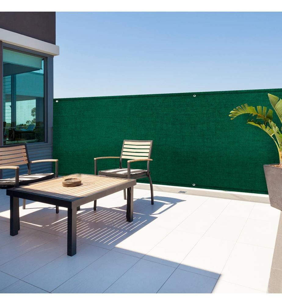 INKAZEN PRATIK GARDEN - Sichtblende 300 g/m² Grün 1 x 5 m