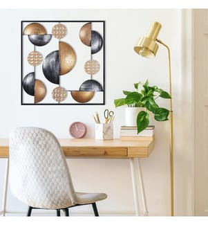 Wanddekoration My World - 55 x 55 cm