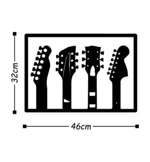 Wanddekoration Guitar - 46 x 32 cm