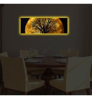 Leinwandbild LED - 30 x 90 cm