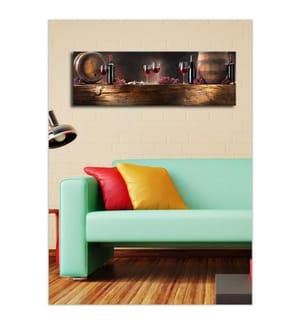 Leinwandbild mit LED-Hintergrundbeleuchtung - 30 x 90 cm
