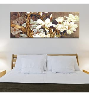 Dekoratives Leinwandbild (30 x 80 cm) - Mehrfarbig