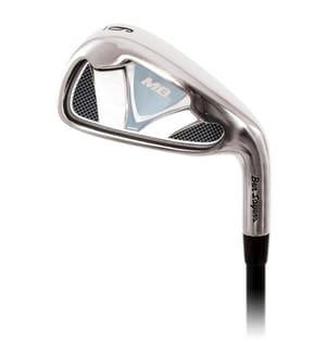 Golf-Set M8 YRH/LRH + 1 Inch - Hellblau und Schwarz