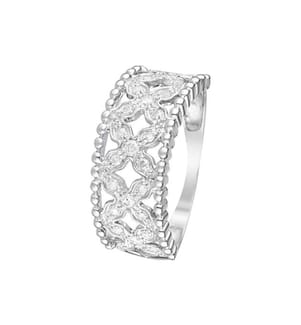 Ring Dahlia - Silber