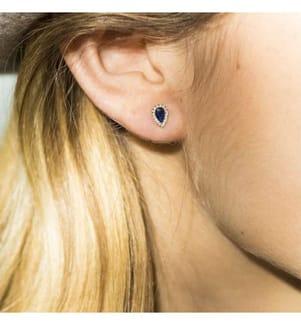Ohrringe Melton - Silber