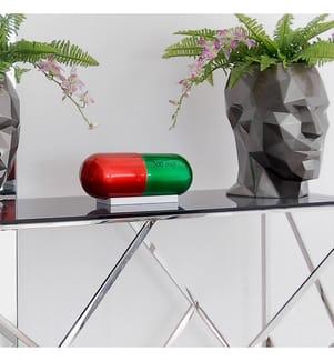 Deko-Objekt Pilule - Rot und Grün
