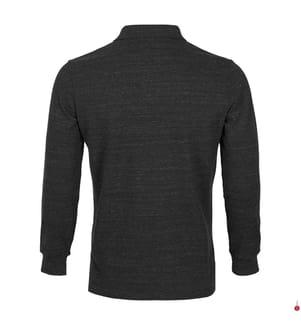 Poloshirt Custom Slim Fit - Schwarz