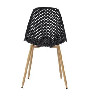 4er-Set Stühle Poppy - Schwarz
