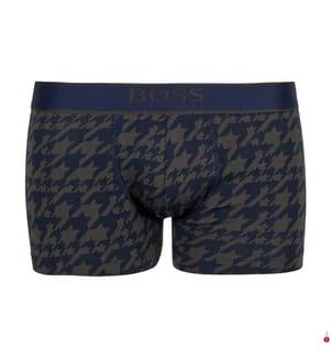 Boxershort Trunk - Marinblau und Braun