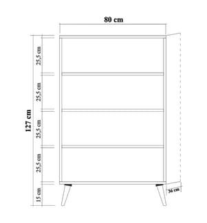Aufbewahrungsmöbel Multibox - Braun