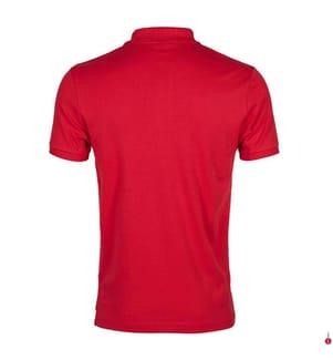Poloshirt Small Logo - Rot