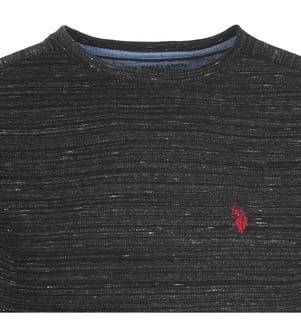 Pullover Small Logo - Dunkelgrau