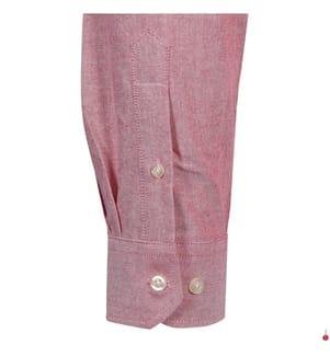 Hemd Custom Fit - Rosa