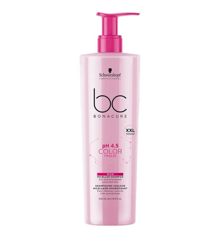 Shampoo bc BONACURE Color Freeze Rich ph 4.5 - 500 ml