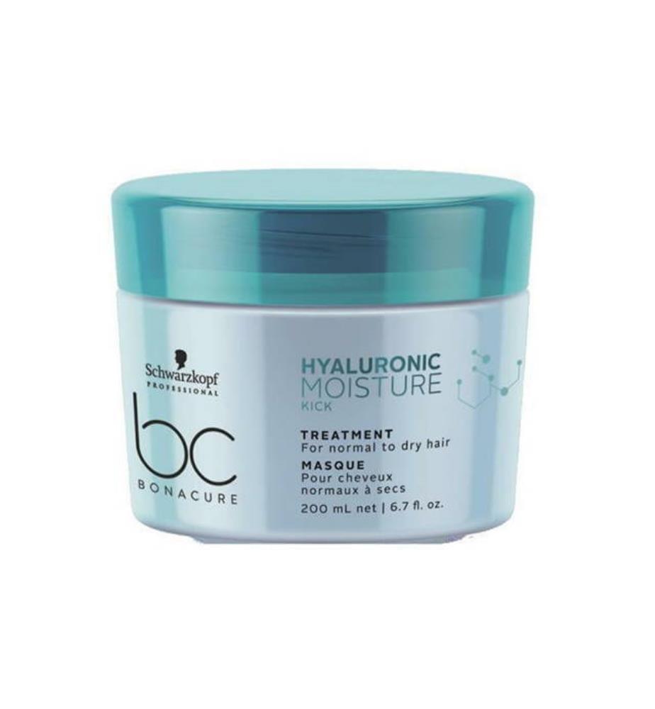 Haarmaske bc BONACURE Hyaluronic Moisture Kick - 200 ml