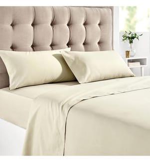 Bettlaken 100% Baumwolle - 90 x 190/200 cm