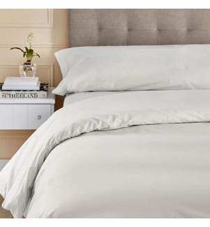Bettgarnitur mit Bettbezug 100% - 150/160 x 190 cm
