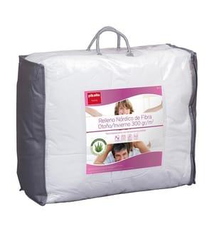 Winterbettdecke aus Faser und Aloe Vera-Behandlung 300 g - 280x240cm