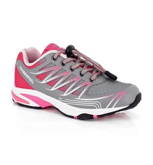 KIMBERFEEL - Trail Running-Schuhe Lasio - Grau und Rosa
