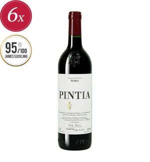 6x Pintia Bodegas y Viñedos Pintia Toro DO 2016