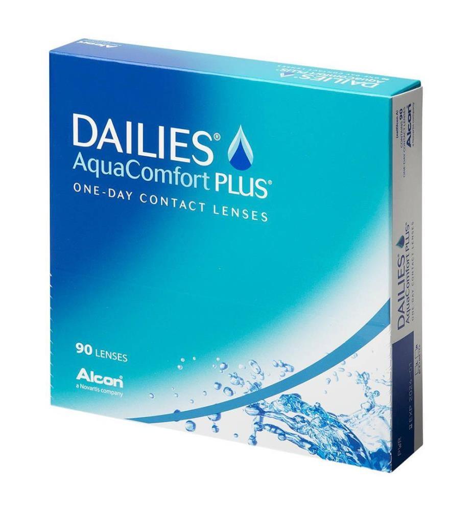 Dailies - AquaComfort Plus Dioptrie 4 - 90 Stck.