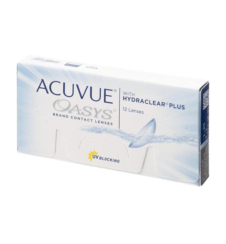 Acuvue - Oasys Dioptrie -0,5 - 12 Stck.